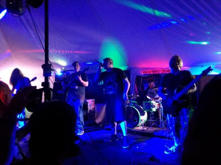 Bishop on the Darkside Campgrounds Stage